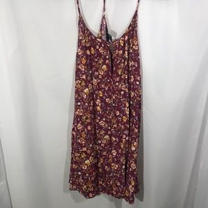 🍊Forever 21 Flowy Floral Racerback Tunic